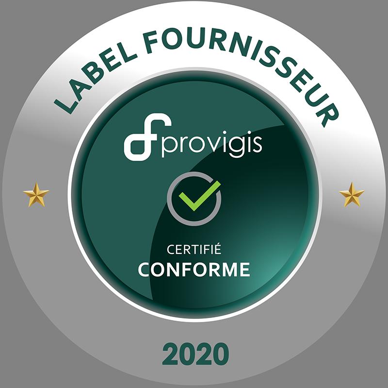 Label Fournisseur Provigis 2020