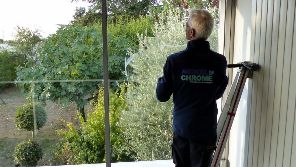 Nickel Chrome Niort - Nettoyage de vitre