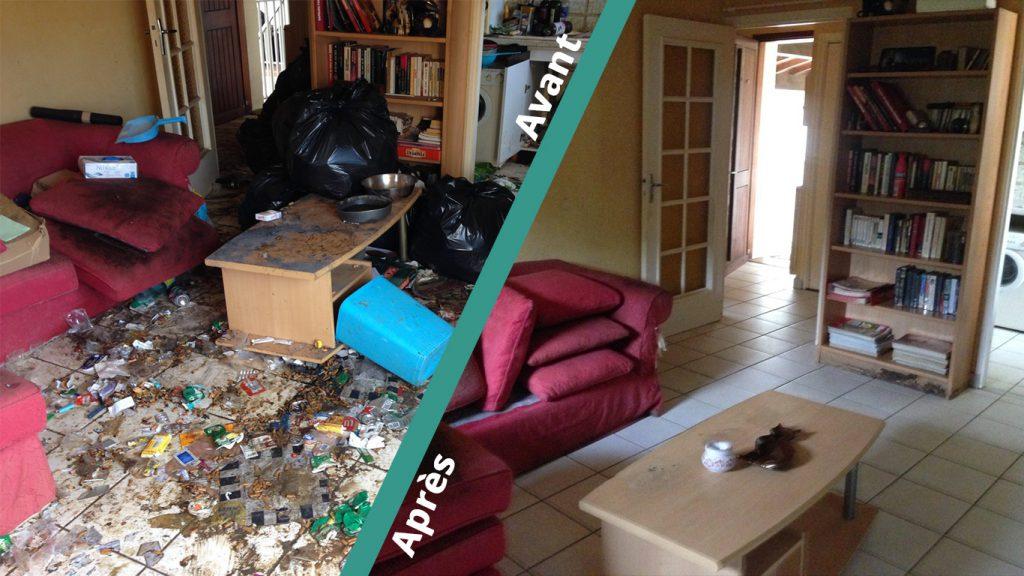 Debarrassage de maison sur niort
